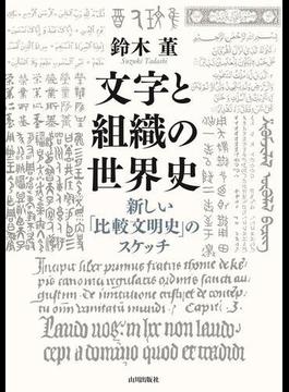文字と組織の世界史 新しい「比較文明史」のスケッチ