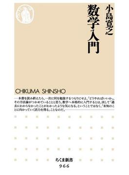 数学入門(ちくま新書)