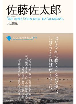 コレクション日本歌人選 071 佐藤佐太郎