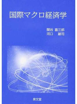 国際マクロ経済学の通販/関谷 喜...