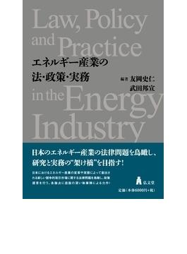 エネルギー産業の法・政策・実務