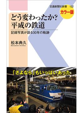 どう変わったか?平成の鉄道 記録写真が語る30年の軌跡 カラー版(交通新聞社新書)