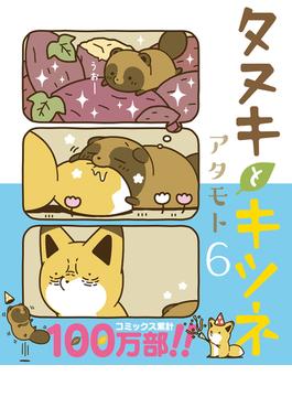タヌキとキツネ 6 (Liluct Comics)
