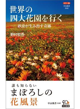 カラー版 世界の四大花園を行く―砂漠が生み出す奇跡(中公新書)