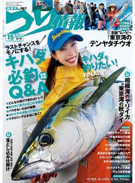 つり情報 2019年10月15日号(辰巳出版)
