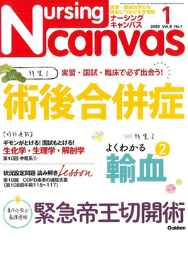Nursing Canvas (ナーシング・キャンバス) 2020年 01月号 [雑誌]