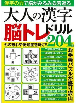 【アウトレットブック】大人の漢字脳トレドリル全204問