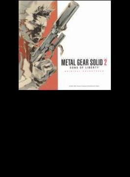 METAL GEAR SOLID2 SONS OF LIBERTY ORIGINAL SOUNDTRACK
