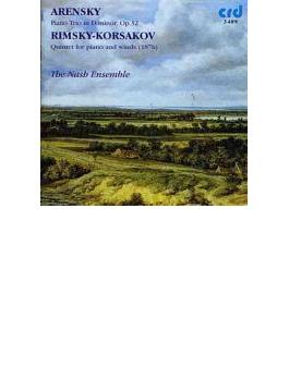 Piano Trio: Nash Ensemble +rimsky-korsakov: Quintet For Piano & Winds