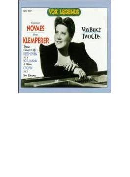 Beethoven, Schumann, Chopin: Piano Concerto: Novaes(P) Klemperer /