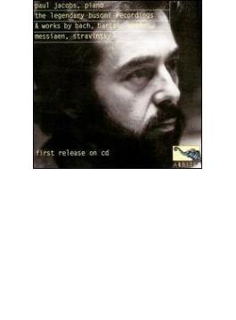 P.jacobs Plays Busoni, Stravinsky, Bartok, Messiaen, Etc