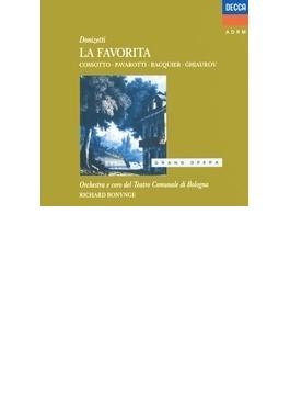 『ファボリータ』全曲 ボニング&ボローニャ・テアトロ・コムナーレ、フィオレンツァ・コッソット、ルチアーノ・パヴァロッティ、他(1974 ステレオ)(2CD)