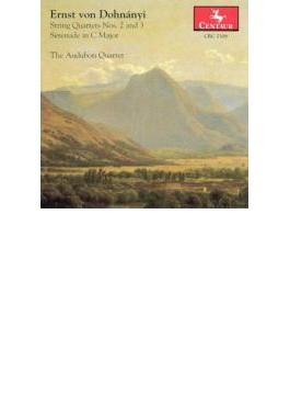 String Quartet, 2, 3, Serenade: Audubon Q