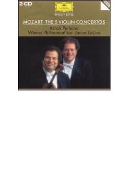 ヴァイオリン協奏曲全集 パールマン(vn)、レヴァイン&ウィーン・フィル