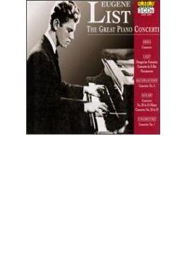 ピアノ協奏曲集~協奏曲版『ヘクサメロン』ほか ユージン・リスト(3CD)