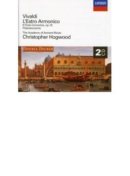 協奏曲集『調和の霊感』全曲、フルート協奏曲集 ホグウッド&エンシェント室内管