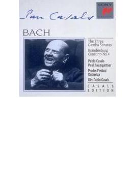 Cello Sonata, Brandenburg Concerto.4: Casals
