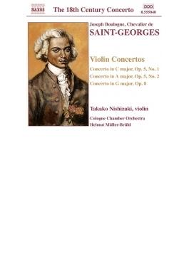 ヴァイオリン協奏曲Op.5-1/Op.5-2/Op.8 西崎/ブリュール/ケルン室内楽団