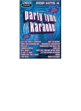 Party Tyme Karaoke - Pop Hits4