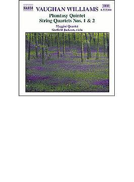 幻想的五重奏曲/弦楽四重奏曲第1番/同第2番 マッジーニ四重奏団/ジャクソン