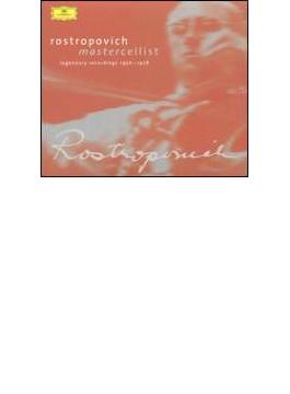 Rostropovich Concertos, Chamber & Solo Works