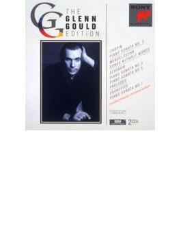 ピアノ・ソナタ第3番(+メンデルスゾーン、スクリャービン、プロコフィエフ) グールド(p)(2CD)