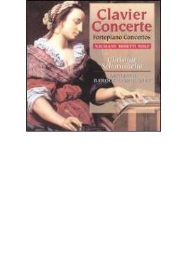 フォルテピアノ協奏曲集 ショルンスハイム(フォルテピアノ)、ベルリン・バロック・カンパニー