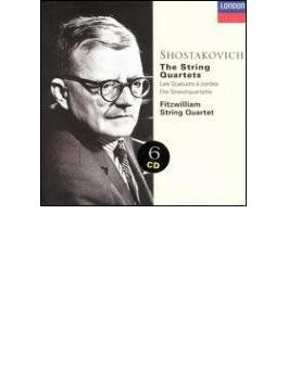 弦楽四重奏曲全集 フィッツウィリアム四重奏団(6CD)