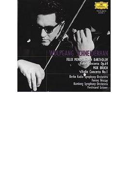メンデルスゾーン:ヴァイオリン協奏曲、ブルッフ:ヴァイオリン協奏曲第1番 シュナイダーハン、フリッチャイ指揮、ライトナー指揮
