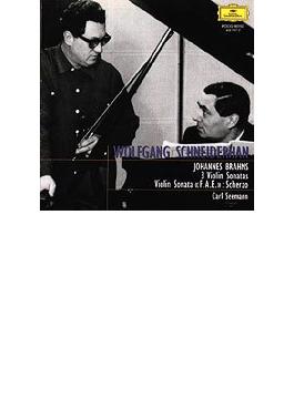 ヴァイオリン・ソナタ第1番、第2番、第3番、スケルツォ シュナイダーハン、ゼーマン
