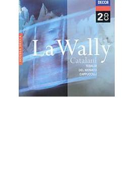 歌劇『ワリー』全曲 クレヴァ&モンテ・カルロ国立歌劇場、テバルディ、デル・モナコ、ほか(2CD)