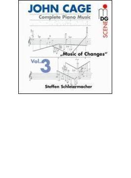 Complete ピアノ作品集 Vol.3 Schleiermacher