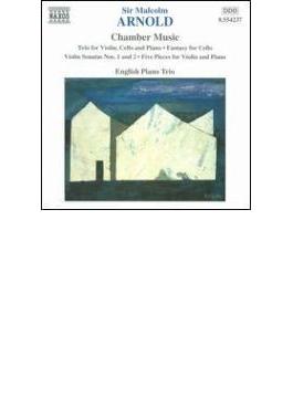 室内楽曲集[ピアノ三重奏曲Op.54/ヴァイオリン・ソナタ第2番/他] イングリッシュ・ピアノ・トリオ