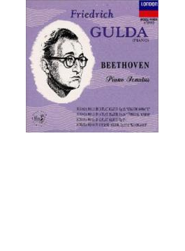 ピアノ・ソナタ第11番、第12番『葬送』、第13番、第14番『月光』 グルダ(1957)