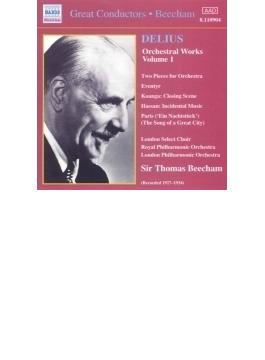 <管弦楽作品集1>小管弦楽のための2つの小品/交響詩「昔ある時」/他 ビーチャム/ロイヤル・フィルハーモニック