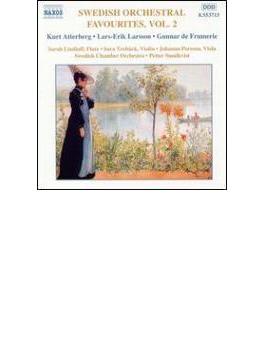 スウェーデン管弦楽曲集2 スンドクヴィスト&スウェーデン室内管弦楽団