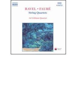弦楽四重奏曲集 アド・リビトゥム四重奏団