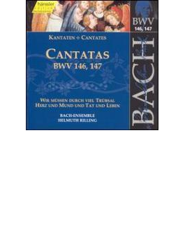 Cantatas.146, 147: Rilling / Bachcollegium Stuttgart