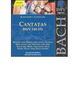 Cantatas.148-151: Rilling / Bachcollegium Stuttgart
