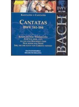Cantatas.161-164: Rilling / Bachcollegium Stuttgart