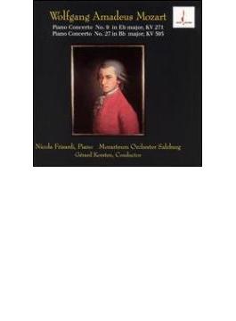 Piano Concertos.9, 27: Frisardi, コルステン / Mozarteum.o