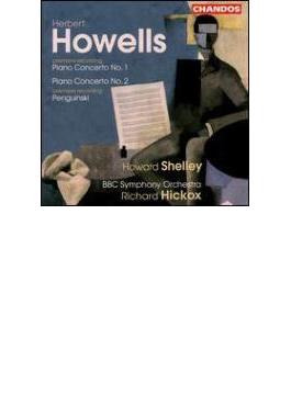 [ハウエルズ:ピアノ協奏曲集] シェリー(p)/ヒコックス/BBC交響楽団