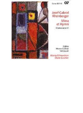 Mass & Hymns: Reinhardt(S)nixon(Org)elektra Women's Choir Vancouver