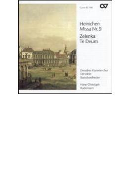 Te Deum / Mass.9: Rademann / Dresden Baroque.o