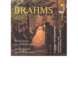 String Sextet.1, String Quartet.3: Leipzig.sq, Rohde(Va)m.sanderling(Vc)