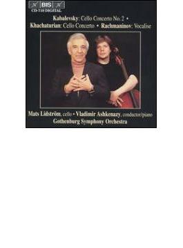カバレフスキー:チェロ協奏曲第2番、ハチャトゥリアン:チェロ協奏曲 マッツ・リドストレム、ヴラディーミル・アシュケナージ&エーテボリ交響楽団