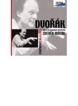 ドヴォルザーク:交響曲第4番&第8番 ズデニェク・マーツァル&チェコ・フィル