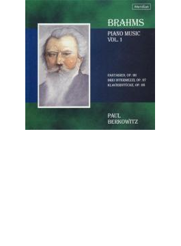 Piano Works Vol.1 Op.116-118: Berkowitz