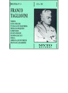 Franco Tagliavini Recital Vol.2