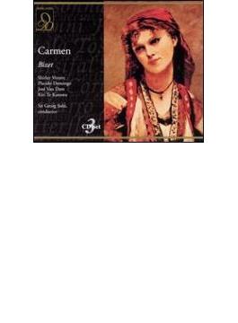 Carmen: Solti / Royal Opera House Verrett Domingo Dam Te Kanawa
